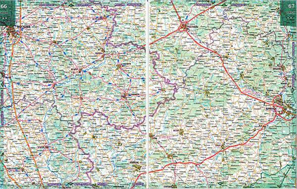Street map Bryansk