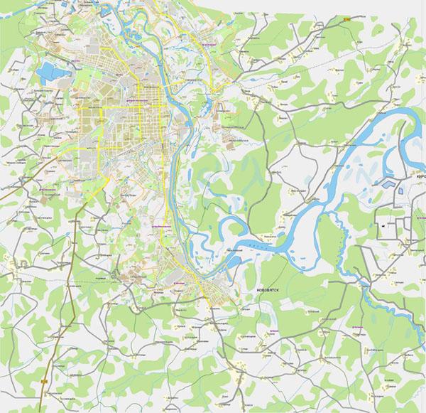 Карта города Киров и Кировской области. Подробная карта ...: http://www.rus-maps.com/russia-map-65/