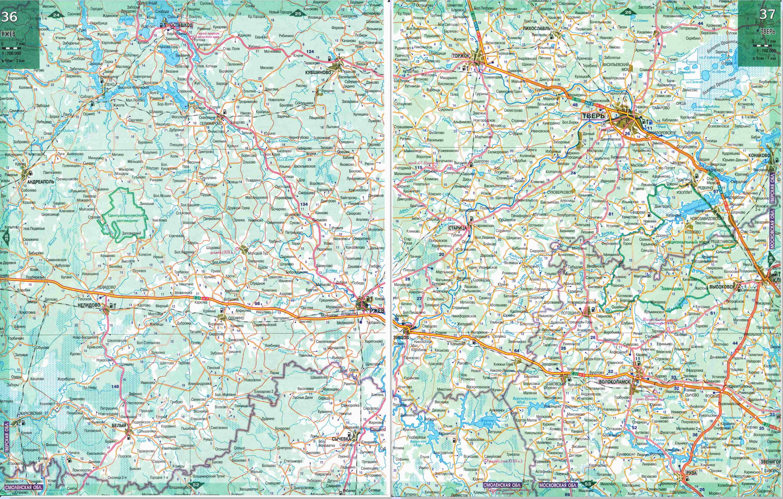 Карты Нижнего Новгорода