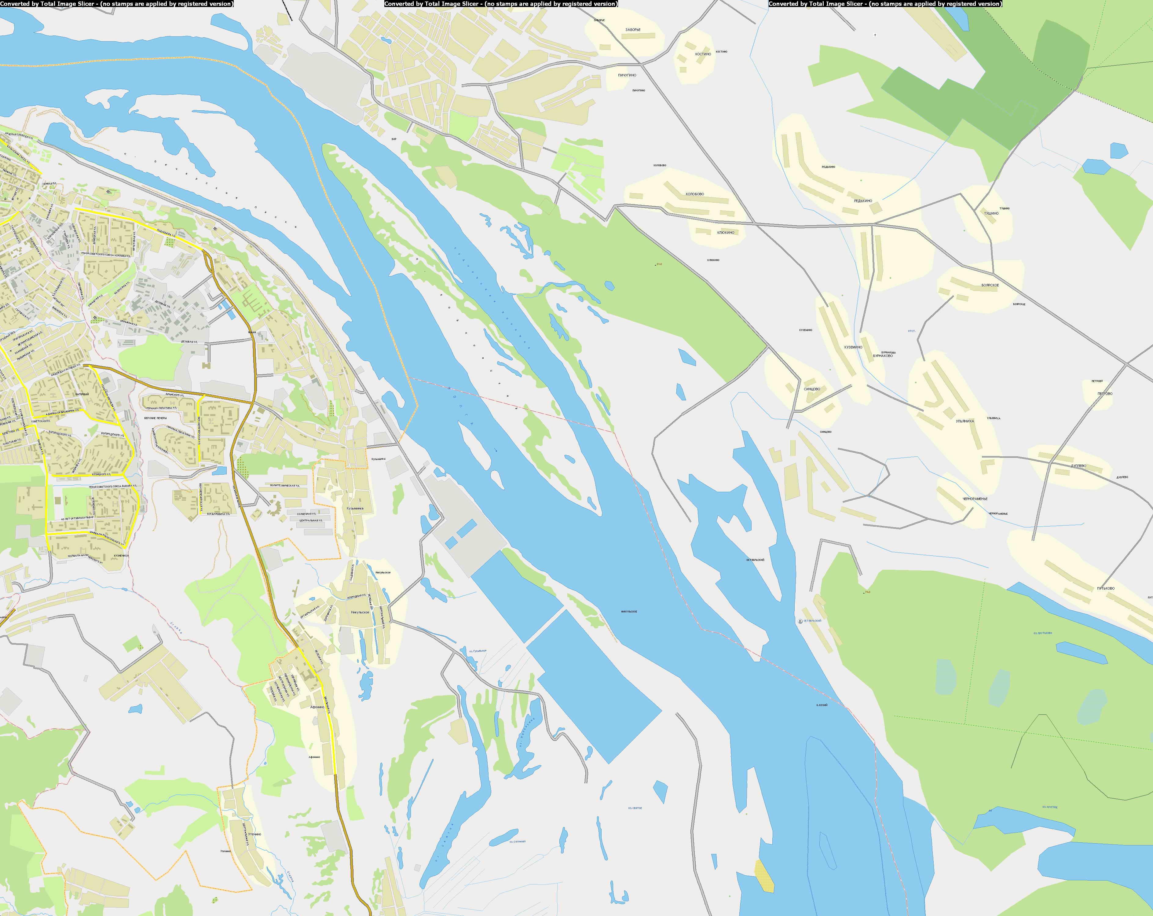 Новгорода карта г нижний новгород