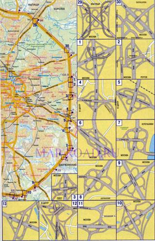 Реконструкция можайского шоссе схема фото 30