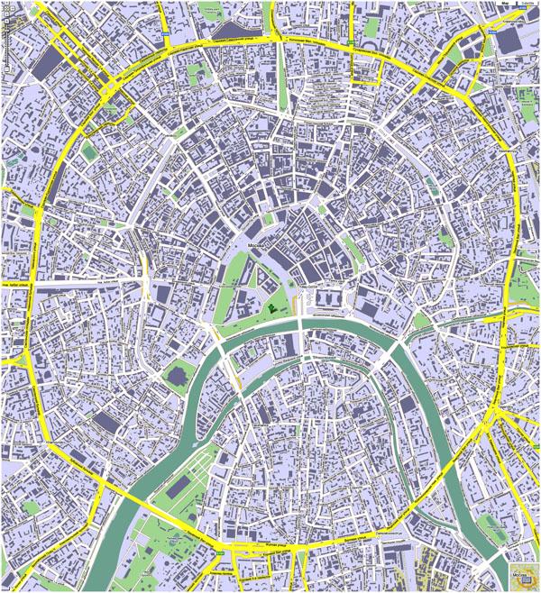 Схема районов города спб