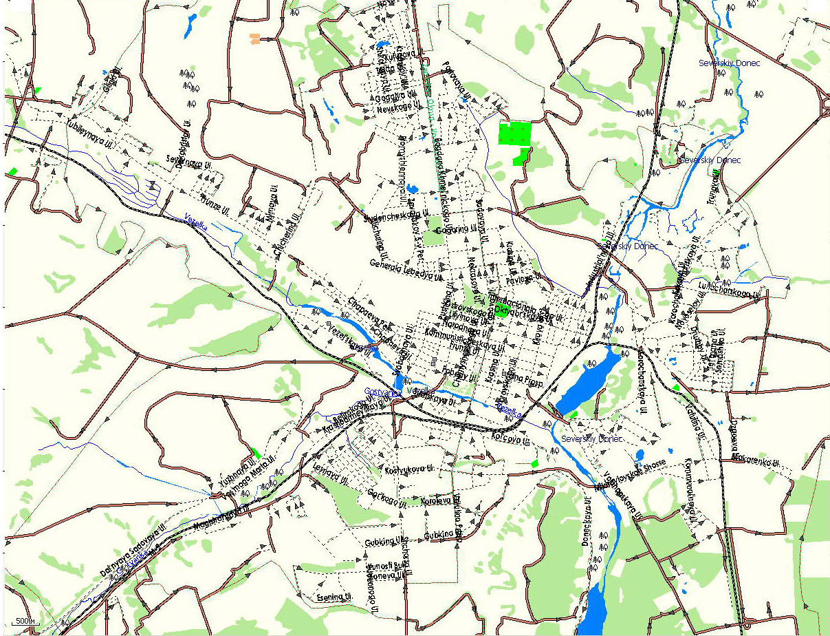 GPS карта г. Белгород. Подробная GPS карта Белгорода для ...: http://www.rus-maps.com/gps-map-6/