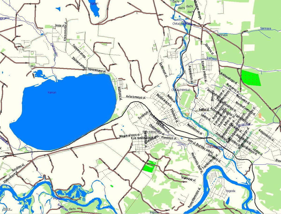 Gps карта г чита подробная gps карта