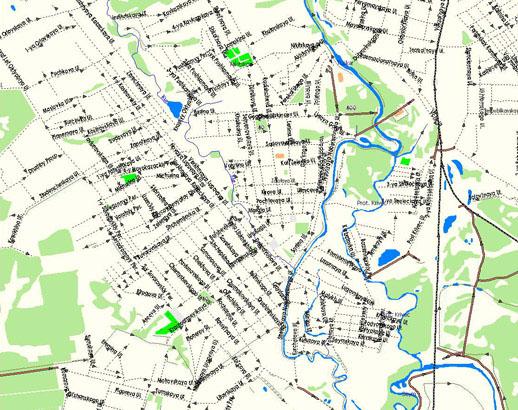 GPS карта г.