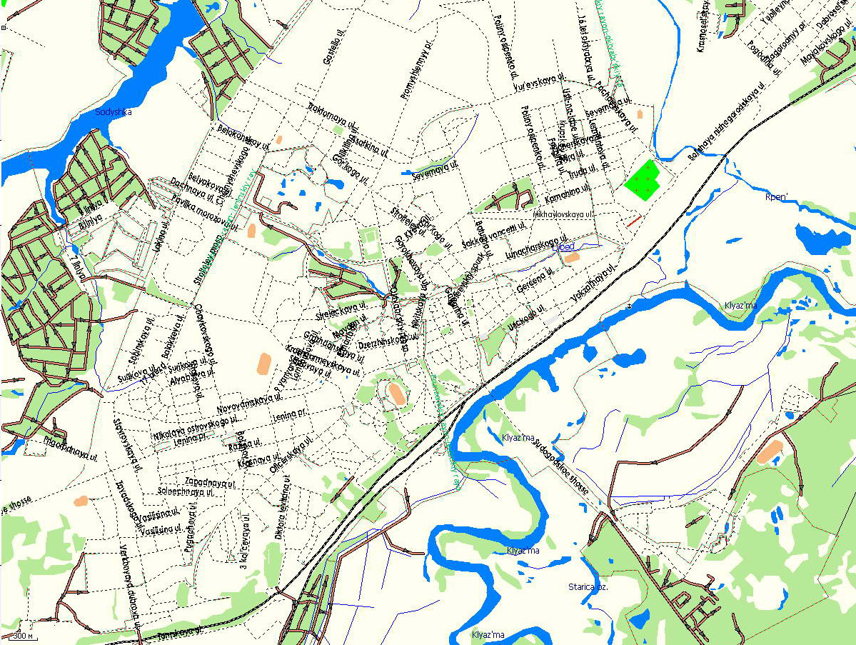 GPS карта г. Владимир. Подробная GPS карта Владимира для ...: http://www.rus-maps.com/gps-map-9/