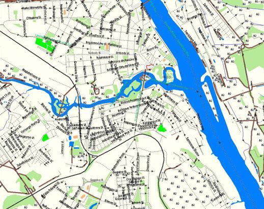 Ярославль. Подробная GPS карта